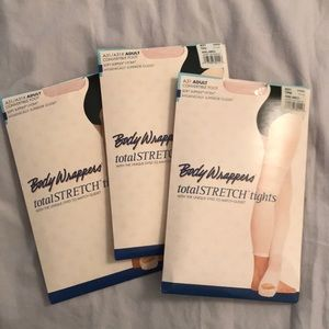 Body wrappers ballet tights